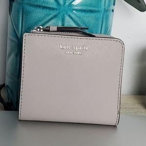 Kate Spade Gray Bifold Wallet